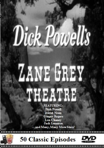 Dick Powell's Zane Grey Theater - 50 Classic TV Western Episodes LOTS of Stars