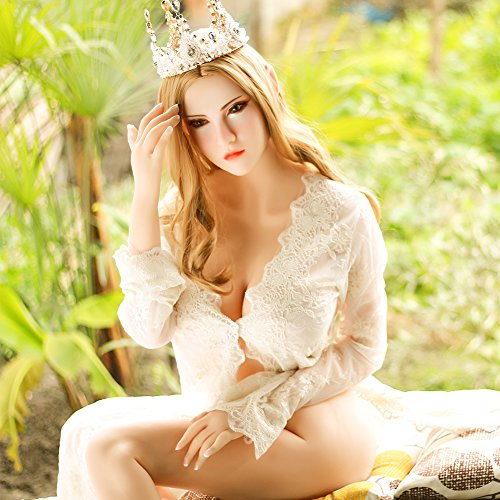 168cm/5ft 6.1in Hyper-Realistic Elf Sex Doll Big Breast Full Body TPE Silicone Adult Love Doll for Men with Metal Skeleton