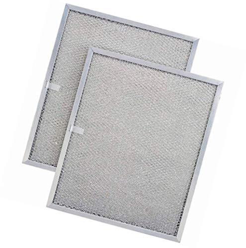 Nispira Ersatzfilter für Dunstabzugshaube, kompatibel mit Broan QS1 und WS1, im Vergleich zu BPS1FA36, 2 Filter