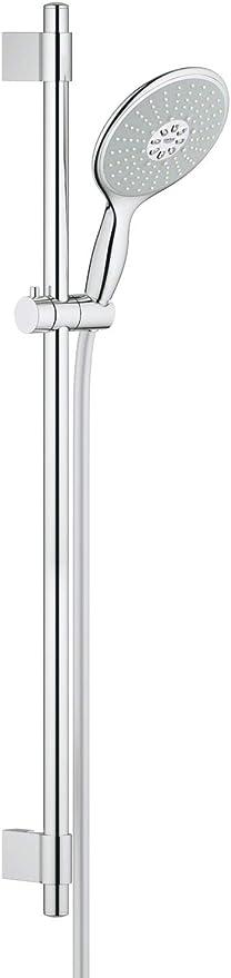 327 opinioni per GROHE Power&Soul Set Asta Doccia, Lunghezza 900, con Manopola, Diametro 160 mm,