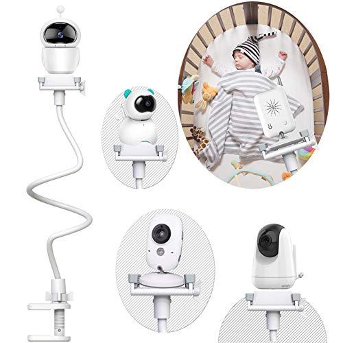 Babyphone Halterung Universal Baby Kamera Babyphone Halter Baby Monitor halter Kein Bohren Verstellbarer Babykameraständer für Kinderzimmer Kompatibel mit den meisten Babyphone