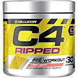 Cellucor C4 Ripped Pre Workout Powder Cherry Limeade | Creatine Free + Sugar Free Preworkout Energy...