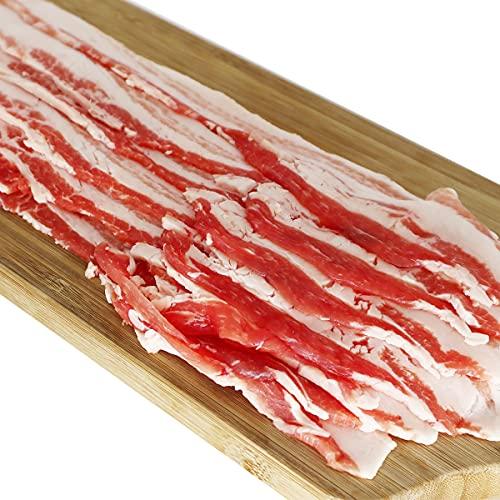 豚バラスライス 500g バーベキュー 焼き肉 焼肉 しゃぶしゃぶ 鍋 豚肉 バラ肉 (500g)