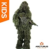 Arcturus Ghost Kids Ghillie Suit - Super-Dense, Double-Stitched Design |...