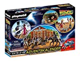Playmobil- Adventskalender Calendario Avvento Ritorno al Futuro Western, Multicolore, 70576