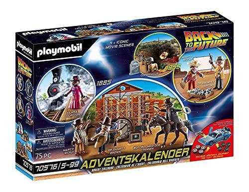 PLAYMOBIL Adventskalender 70576 'Back To The Future Part III', Ab 5 Jahren