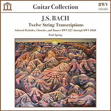 J.S. Bach: Twelve String Transcriptions