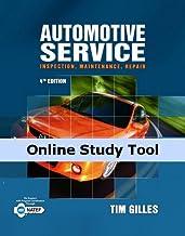 CourseMate for Gilles' Automotive Service: Inspection, Maintenance, Repair, 1st Edition