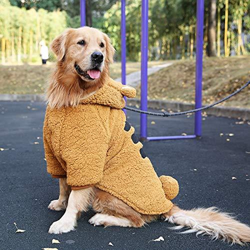 ZHXY Chaqueta Perros Abrigo Perro Mascotas Perro Otoño e Invierno Caliente Chaqueta,Adecuado para Perros medianos,Perros Grandes,Golden Retriever,labradores,etc.
