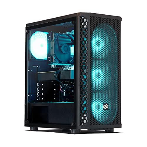 Sedatech Pro Gaming PC AMD Ryzen 7 2700 8X 3.2GHz, Geforce RTX 3070 8Gb, 16 GB RAM DDR4, 500GB SSD NVMe M.2 PCIe, 2TB HDD, USB 3.1, WLAN. Desktop Computer, ohne OS