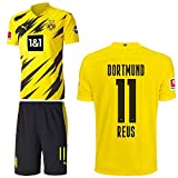 PUMA Borussia Dortmund BVB Heimset 2020 2021 Home Kit Sponsor BL Logo Kinder Marco Reus 11 Gr 176