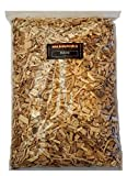 BBQ Woodchips Räucherchips Hickory 1Kg (ca. 4 Liter) Hickory Wood Chips für den Kugelgrill Gasgrill oder Smoker