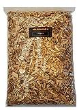 BBQ Woodchips Hickory 1Kg ( ca. 4 Liter) Hickory wood chips für den Kugelgrill und Smoker
