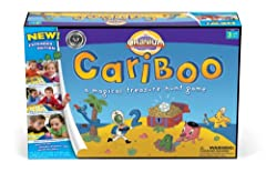 Kids will love every minute of Cranium Cariboo as each turn gives them the chance to match fun drawings Rounds of Cariboo last about 10 to 15 minutes, great for young attention spans Kids learn while matching letters, numbers, shapes and colors AND p...