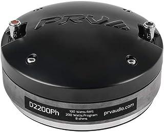 "$69 » PRV AUDIO Compression Driver D2200Ph - 2"" Exit Driver Phenolic Compression Driver for High Vocals - Pro Car Audio Systems"