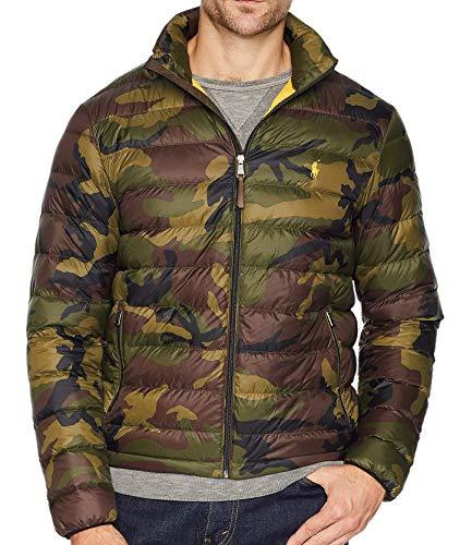 Polo Ralph Lauren Men's Green Lightweight Packable Down Jacket (L)