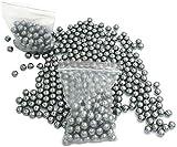 GK 100pc Catapult Slingshot Ammo Roulements à Billes en Acier Tir Chasse Hoodle Marbles Target Practice