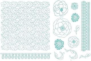 QUICKUTZ Lifestyle Crafts Lifestyle Crafts Ruffles Letterpress Printing Plate Set