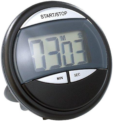 PEARL Kurzzeitmesser: Küchen-Timer mit Magnethalterung (Digitale Küchenuhr mit Timer)
