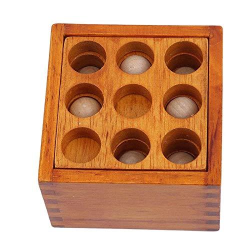 ATC Boite Strategie 36 Box Brain Teaser Casse Tete la boite a trous 36 Strategy Wooden