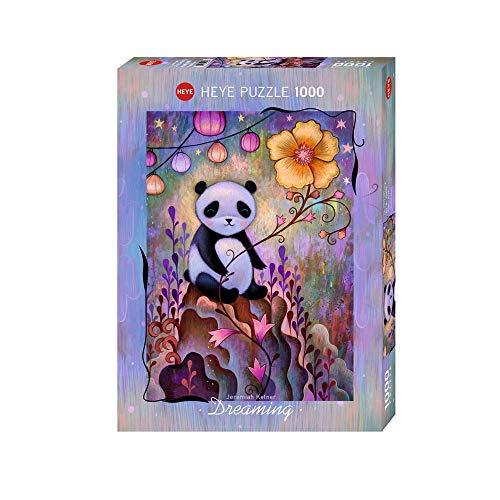 Heye- Puzzle Ketner Lonely Panda, 1000 Pezzi, Colore Bianco, VD-29803