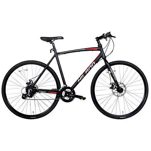 Hiland Aluminum Hybrid Fitness Road Bike review