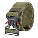WKDYBD Men's Tactical Belt,Military Style Heavy Duty Belt Tactical Sports Belts Army Green