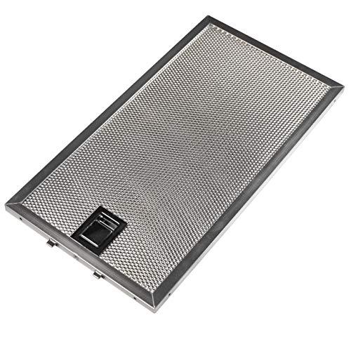 vhbw Filter Metallfettfilter, Dauerfilter Ersatz für Miele 8258211 für Dunstabzugshaube; Metall