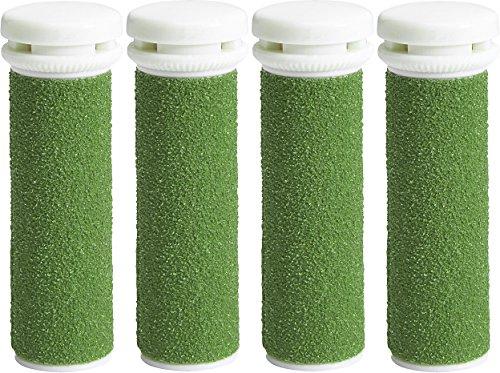 My Rollers™ Mineral Ersatzrollen (grün) für Emjoi Micro Pedi im 4er-Pack | Extrem Grob