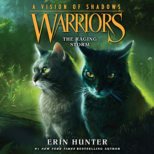 Couverture de Warriors: A Vision of Shadows, Book 6: The Raging Storm