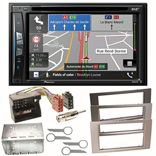 Pioneer z710dab Navegación Radio Digital CarPlay Bluetooth USB Dab + CD DVD MP3OHG–para Ford Focus Fusion Galaxy S de MAX