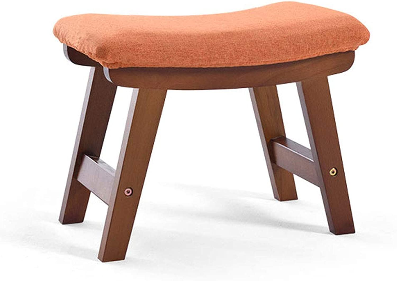 Household Wood Stool Fashion Creative Sofa Stool Living Room Small Bench Adult shoes Bench Chair Stool (Design   8)