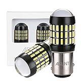 AGLINT 1157 Ampoules LED 66SMD P21W/5W BAY15D Ampoules LED 12-24V Pour Feux Arrière Voiture Feux Arrière Recul Frein Lampe Blanc 6000K