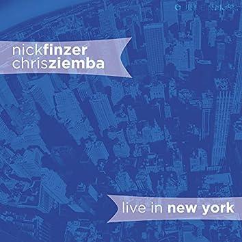 Nick Finzer & Chris Ziemba Live in New York