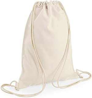 Bagbase Sublimation Gymsac/Drawstring Bag (5 Litres) (UK Size: One Size) (Off White)