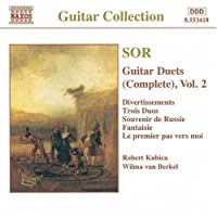 Sor: Guitar Duets, Vol. 2 by FERNANDO SOR (1997-06-10)