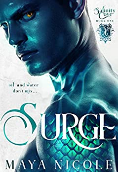 Surge: A Paranormal Romance (Salinity Cove Book 1) by [Maya Nicole, Moonstruck Cover Design]