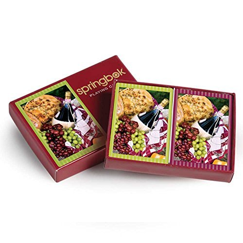 Picnic Perfect Bridge Standard Index Playing Cards by