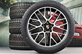 Porsche Macan 95B.2 RS Spyder - Set di ruote invernali da 20', colore: Nero