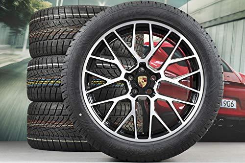 Producto nuevo. Porsche Macan 95B.2 - Juego de ruedas de invierno (20 pulgadas, incluye Dunlop), color negro