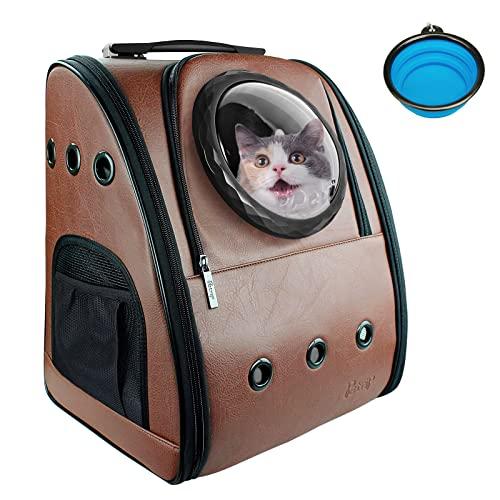 Petrip Dog Backpack Carrier Cat Backpack for Large...