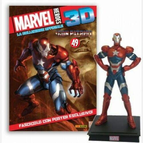 Marvel Heroes 3D Edición 2019 – Salida 49 Iron Patriot