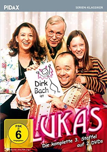 Lukas, Staffel 3 / Weitere 12 Folgen der Comedyserie mit Dirk Bach (Pidax Serien-Klassiker) [2 DVDs]