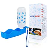 ANPETBEST Travel Water Bottle 325ML /11oz Water Dispenser Portable Mug for Dogs,Cats and Other Small Animals