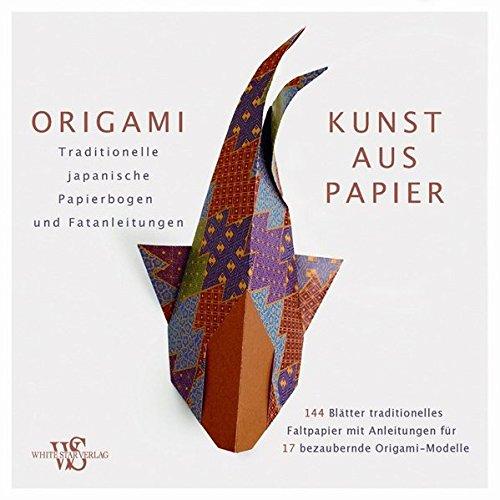 Origami - Kunst aus Papier: Set mit 144 Origami-Faltbogen im Kimono-Style, sowie detaillierte Faltanleitungen für Anfänger und Profis: Traditionelle japanische Papierbogen und Faltanleitungen
