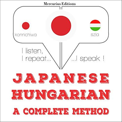 Japanese - Hungarian. a complete method copertina