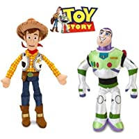 Disney Pixar Toy Story Woody + Buzz Lightyear Action Figures