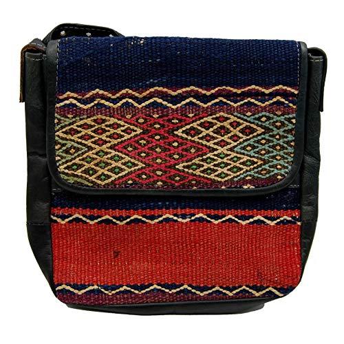 Etnico Arredo Bolso bandolera auténtica piel africana Marruecos cuero vintage 0705201110