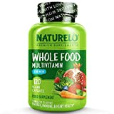 NATURELO Whole Food Multivitamin for Men - with Natural Vitamins, Minerals,...