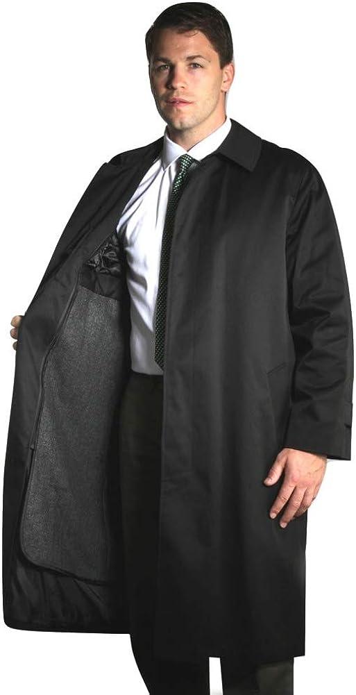 Jean-Paul Germain Big and Tall Buster Three-Season Overcoat